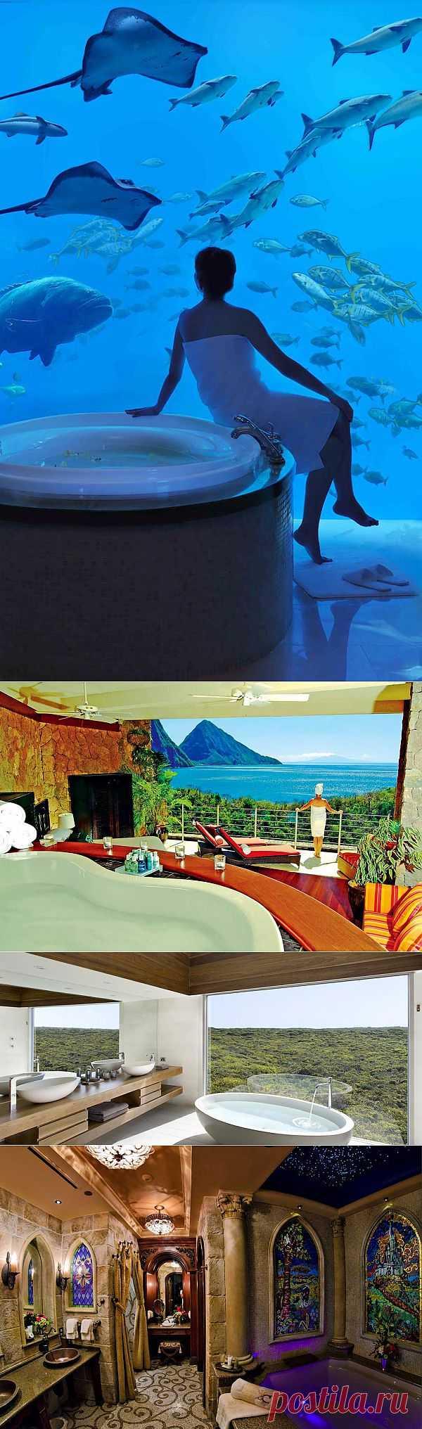 10 отелей с самыми потрясающими ваннами : НОВОСТИ В ФОТОГРАФИЯХ