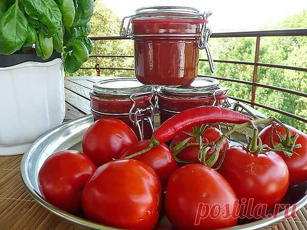 Варианты домашнего кетчупа на зиму.