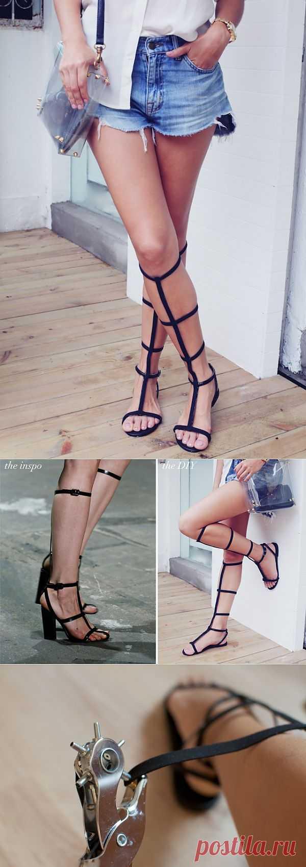 Гладиаторы Alexander Wang (DIY) / Обувь / Модный сайт о стильной переделке одежды и интерьера