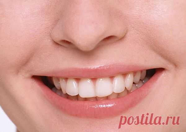 Народные рецепты очищения и отбеливания зубов.