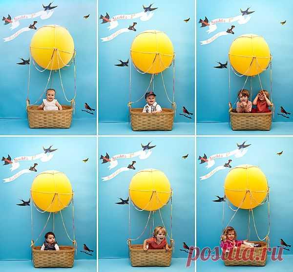дрожжевое воздушный шар для фотосессии своими руками козляк