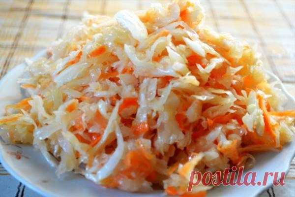 Квашеная капуста — классический старинный русский рецепт