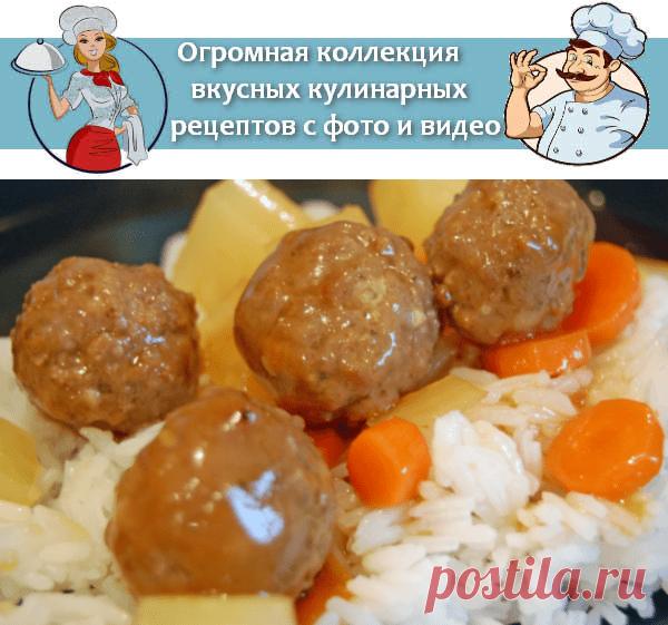 Фрикадельки из филе индейки в духовке, рецепт с фото | Вкусные кулинарные рецепты