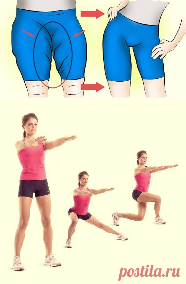 Упражнения на внутреннюю часть бедра картинки