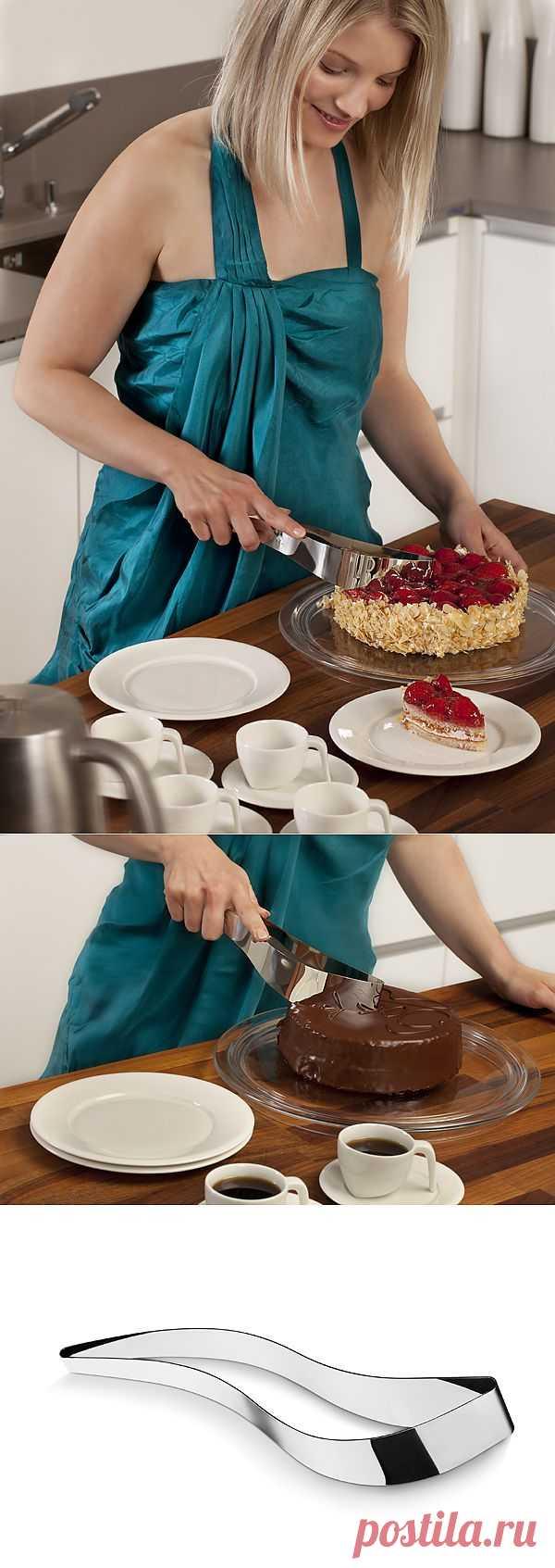 Нож для торта Magisso Cake Server. Нежные тортики будут довольны