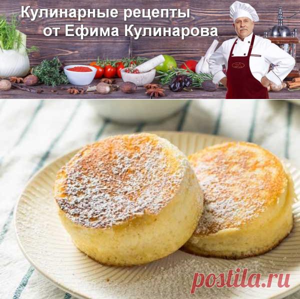 Пышные оладьи на сковороде   Вкусные кулинарные рецепты