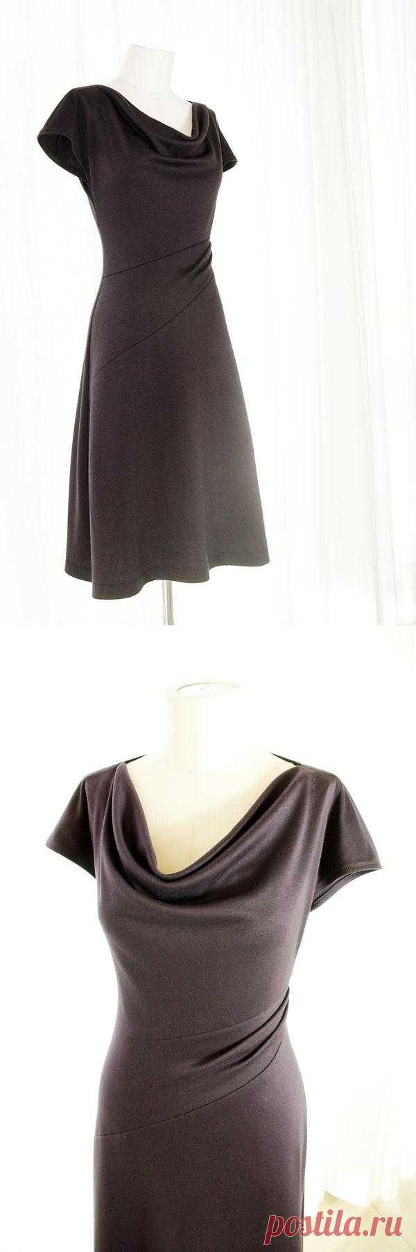 Бесплатная выкройка симпатичного платья / Простые выкройки / Модный сайт о стильной переделке одежды и интерьера