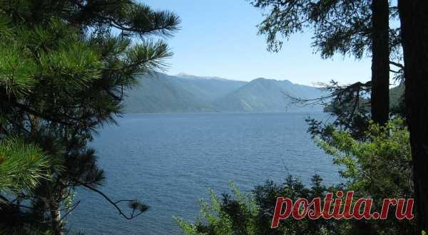Телецкое озеро Республика Алтай