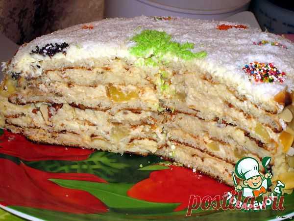 Торт слоеный «Именинно-Новогодний» Автор: GadenKa