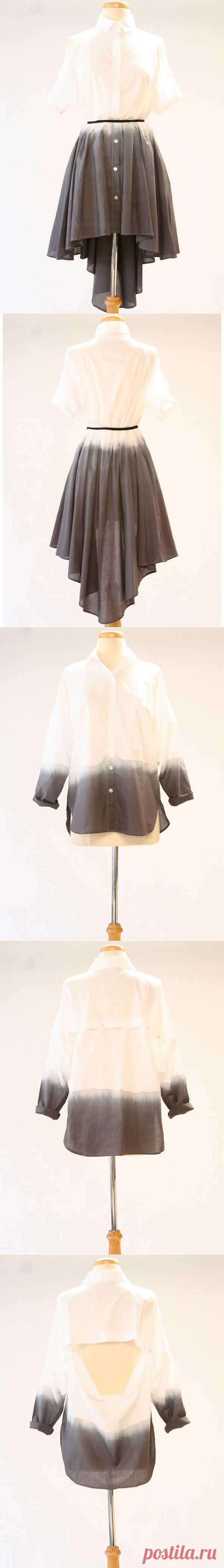 Пачкаем платье / Пачкаем / Модный сайт о стильной переделке одежды и интерьера