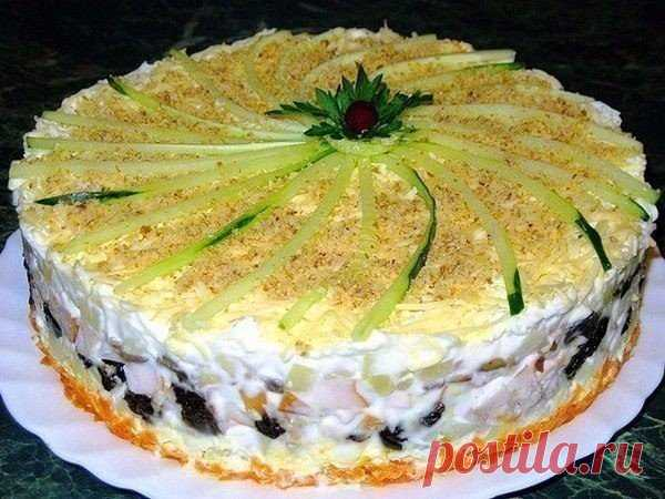 Закусочный торт  / Счастливый повар