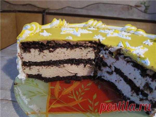 Торт Марокканский с кофе.