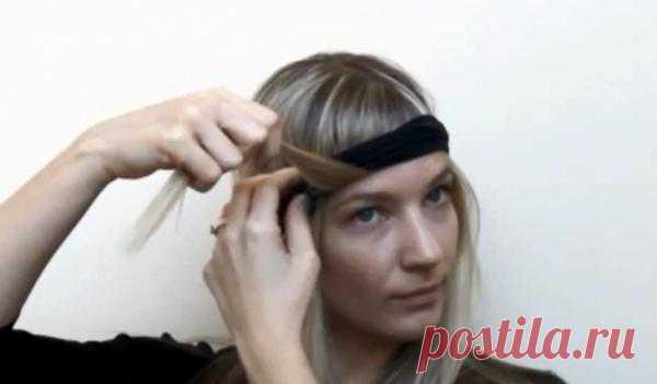 Как закрутить волосы в локоны без щипцов и бигуди / Прически / Модный сайт о стильной переделке одежды и интерьера