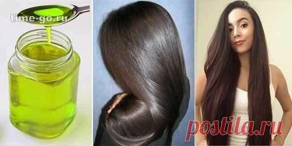 Одно масло остановит выпадение волос и через 10 дней у Вас будут густые и длинные волосы