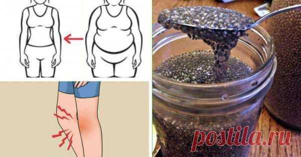 Замачивайте семена чиа, чтобы ускорить метаболизм, потерю веса и уменьшить воспаление, как никогда раньше - Стильные советы
