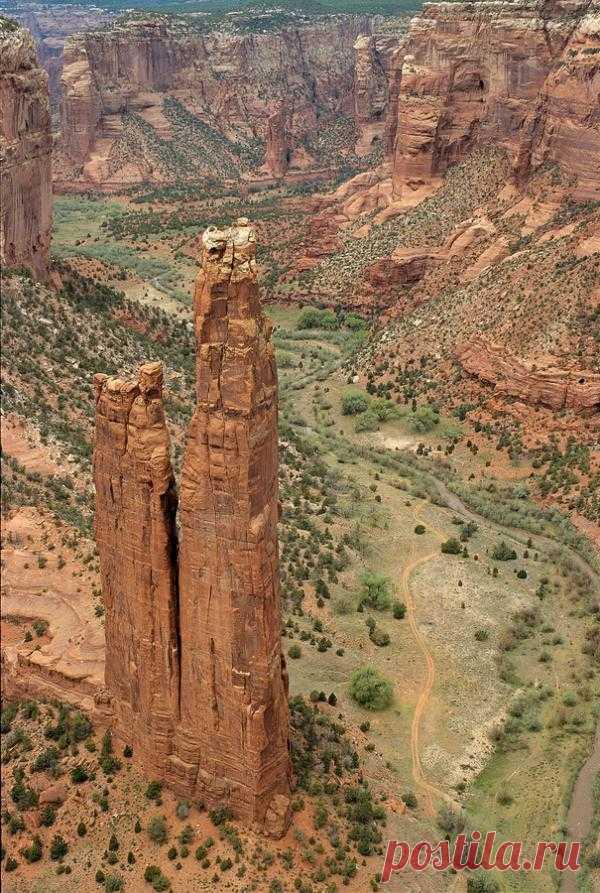 Спайдер Рок, национальный заповедник Каньон де Чейли, Аризона, США.