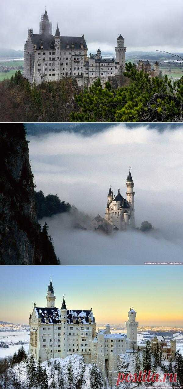 Замок Нойшванштайн в Баварии | В отпуск хочу!