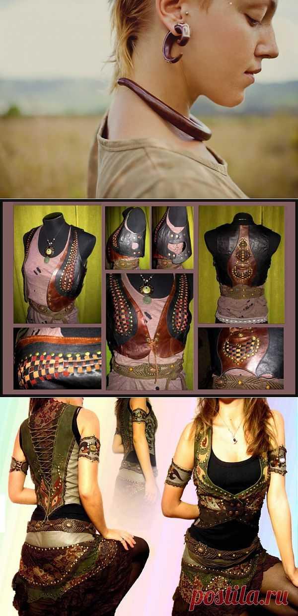 Новые хиппи / Субкультура / Модный сайт о стильной переделке одежды и интерьера
