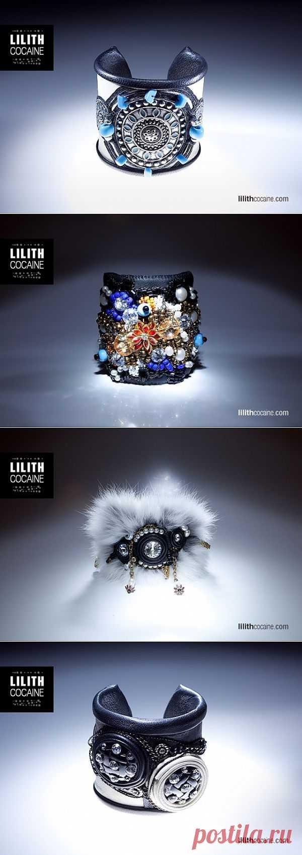 Браслеты ручной работы от Lilith Cocaine (подборка) / Украшения и бижутерия / Модный сайт о стильной переделке одежды и интерьера