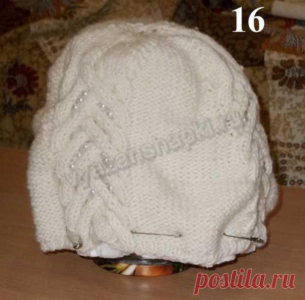 как сшить подклад из флиса для вязаной шапки вяжем шапочки вяжем