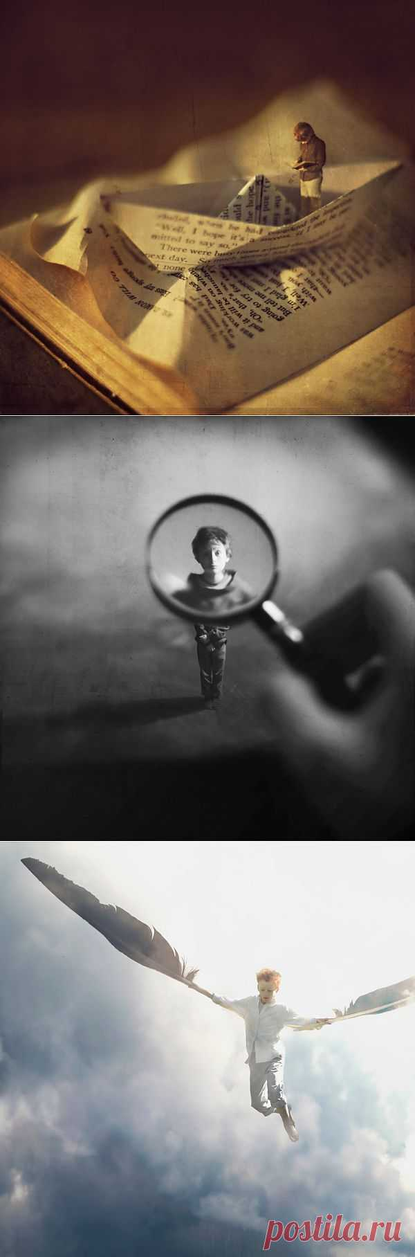 Зев Гувер - Удивительный мир лилипутов на фотографии | Живой фотоблог