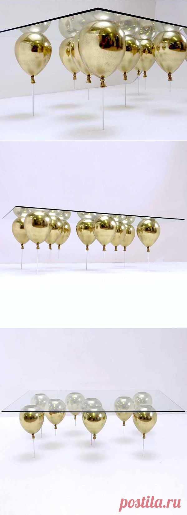 Воздушный столик Кристофера Даффи / Мебель / Модный сайт о стильной переделке одежды и интерьера