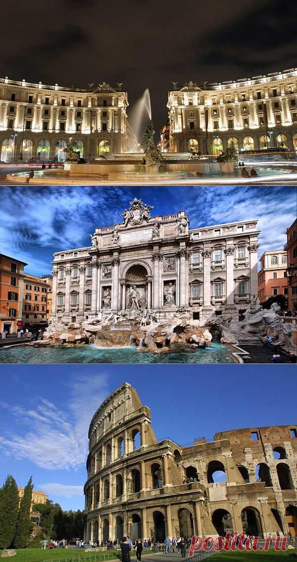 Вдохновение архитектурой Рима | Живой фотоблог