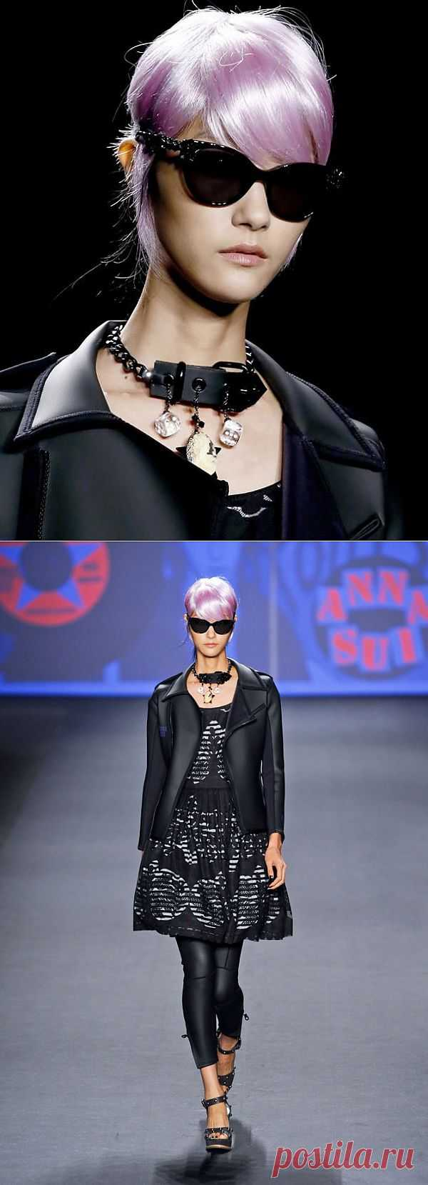 Колье Anna Sui / Украшения и бижутерия / Модный сайт о стильной переделке одежды и интерьера