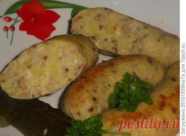 Картофельные колбаски - пошаговый рецепт приготовления с фото