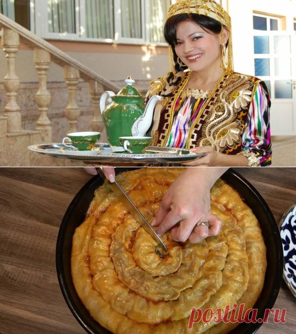 Узбечка поделилась рецептом вкуснейшего пирога, который понравится мужу, свекрови и даже ребенку (ханум по-узбекски) | Лаборатория Вкуса | Яндекс Дзен