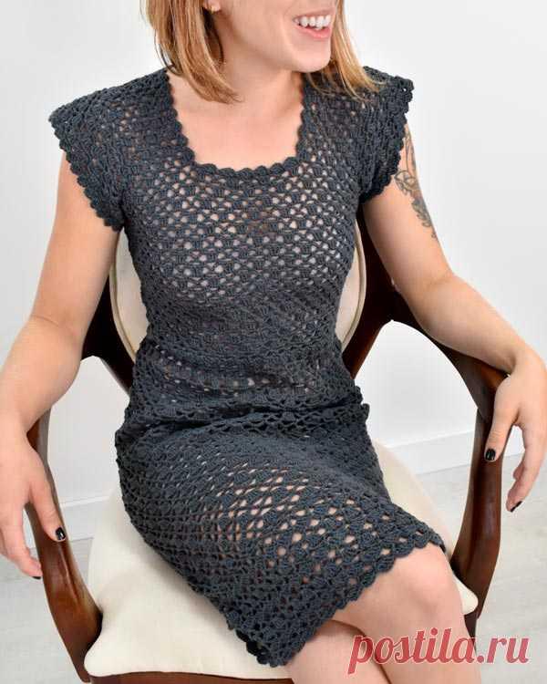 Vestido de Crochê Classic com Euroroma Passione - Blog do Bazar Horizonte