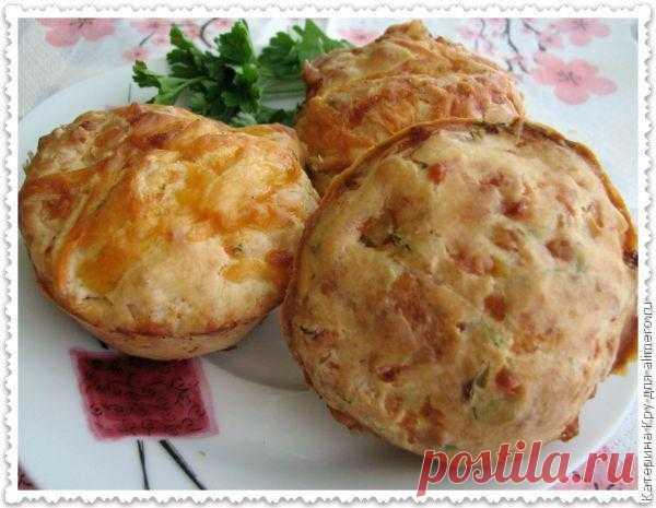 Закусочные маффины / Рецепты с фото
