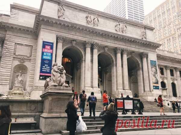 Фотообзор Нью-йоркской публичной библиотеки
