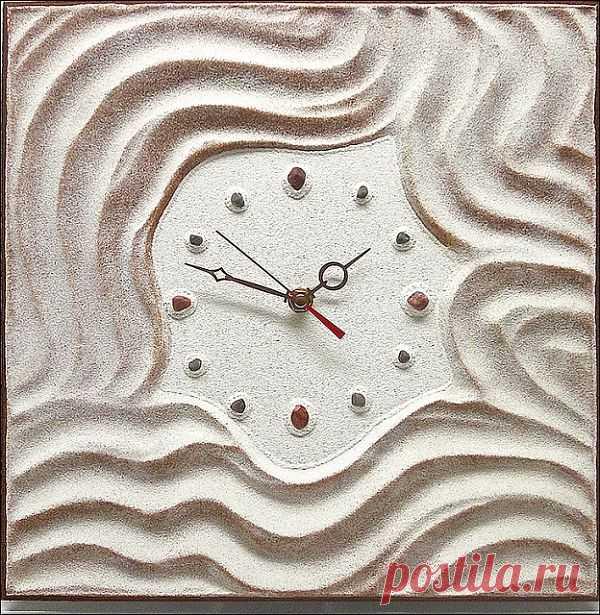 Часы из песка / Лукбуки / Модный сайт о стильной переделке одежды и интерьера