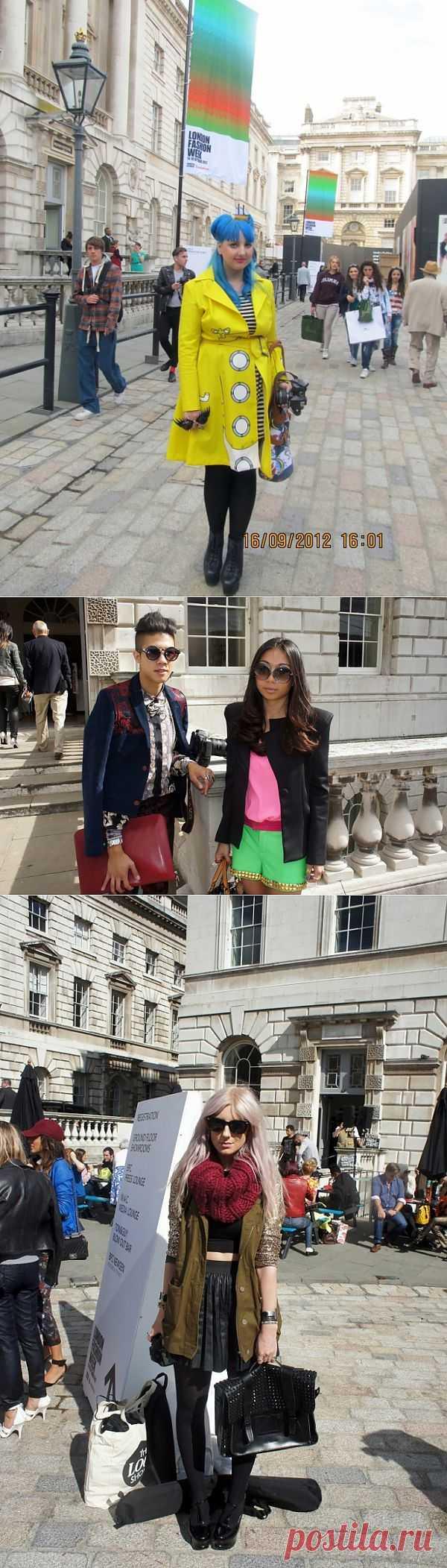 Лондонцы: фрики и не только (подборка) / Street Style / Модный сайт о стильной переделке одежды и интерьера
