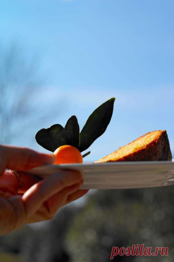 Оригинальный рецепт апельсинового пирога