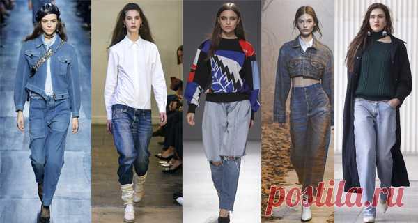 f626d01ca44 Модные женские джинсы осень-зима 2018-2019 фото