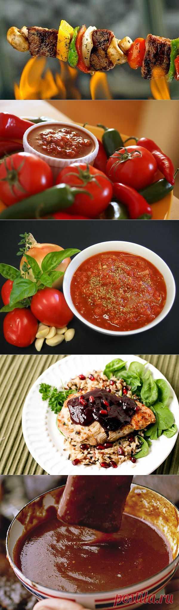 Пять самых вкусных соусов для шашлыка. LiveInternet.