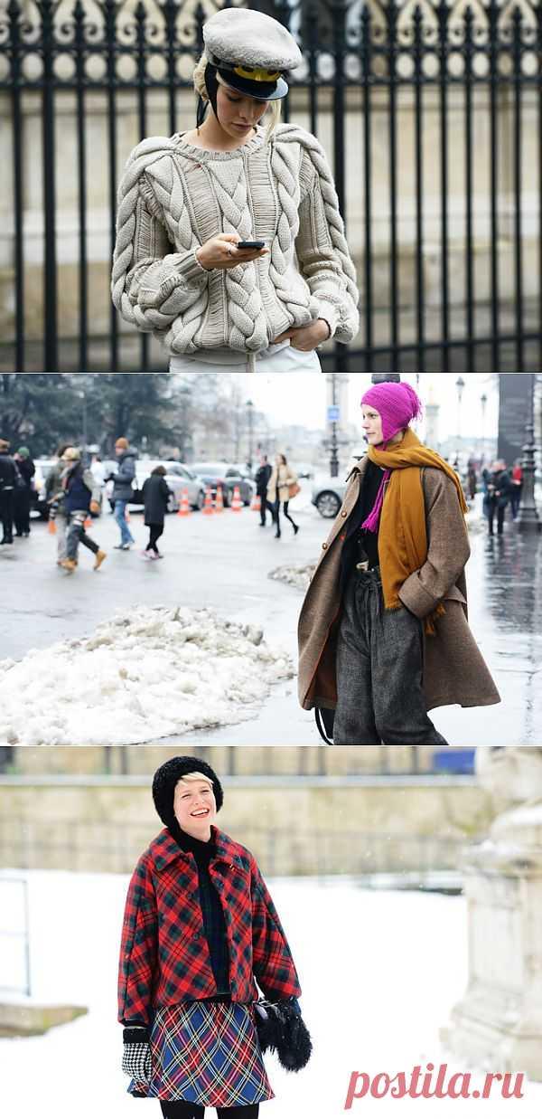 Женский зимний стрит стайл (трафик) / Street Style / Модный сайт о стильной переделке одежды и интерьера