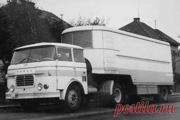 Skoda-706RТ/МT. Легенда советских дальнобойщиков | Oldtimer weekly | Яндекс Дзен