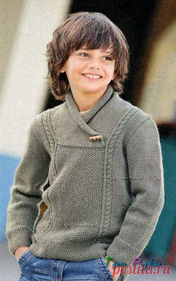 Вязание спицами для мальчика 12 лет — Три Руки — мир эксклюзивных вещей