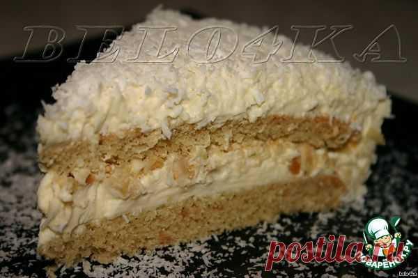 "Торт ""Зимняя сказка"" Автор: belo4ka"