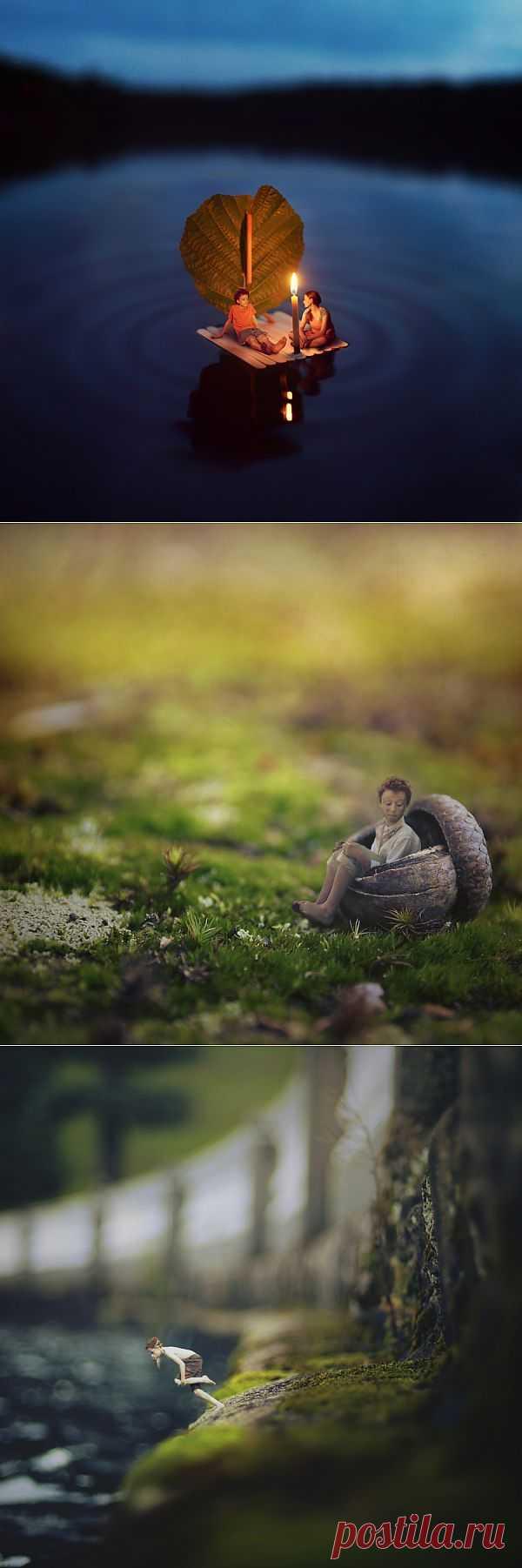Зев Гувер - Удивительный мир лилипутов на фотографии   Живой фотоблог