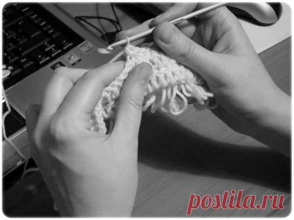 МК вытянутые петли - Ярмарка Мастеров - ручная работа, handmade