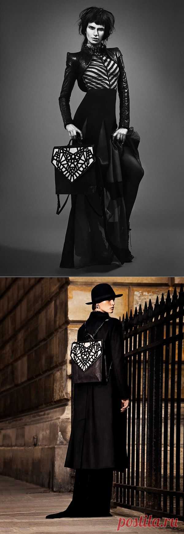 Замечательный портфель / Сумки, клатчи, чемоданы / Модный сайт о стильной переделке одежды и интерьера