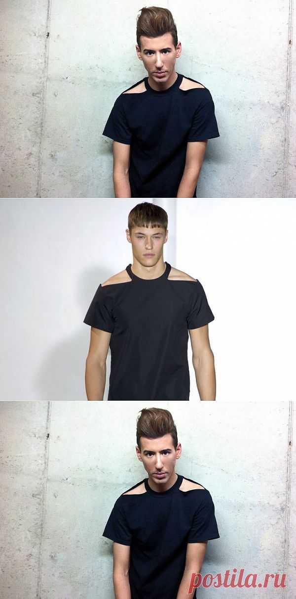 Футболка Mugler (DIY) / Футболки DIY / Модный сайт о стильной переделке одежды и интерьера