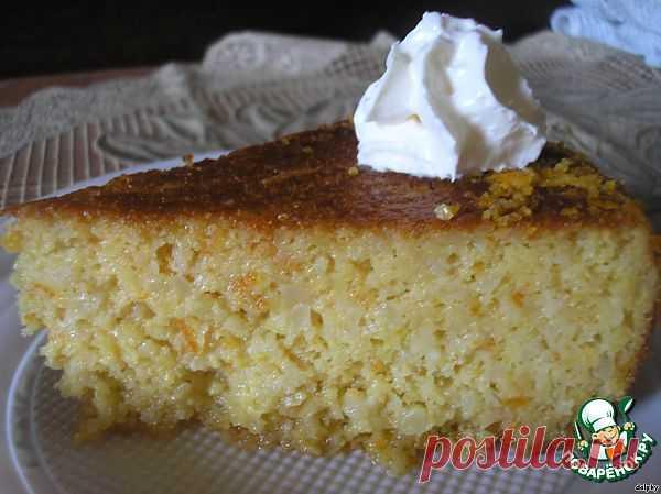 Торт с целыми апельсинами, миндалем и сиропом из десертного вина. Автор: dolphy