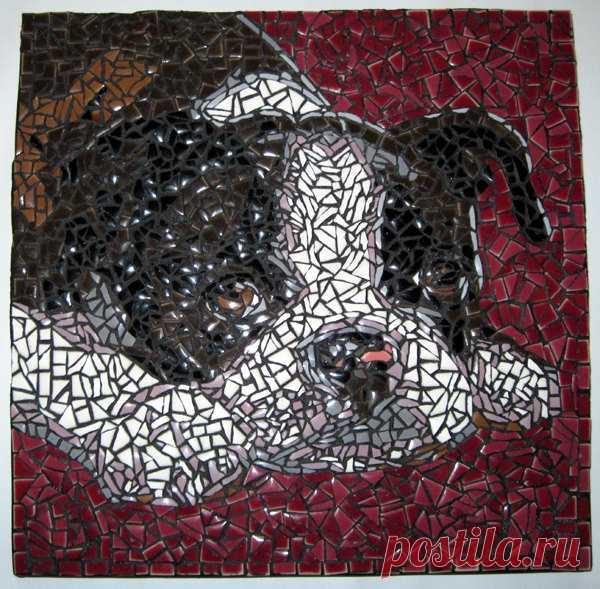 Mosaic Dog Tiles (Page 2) - Line.17QQ.com