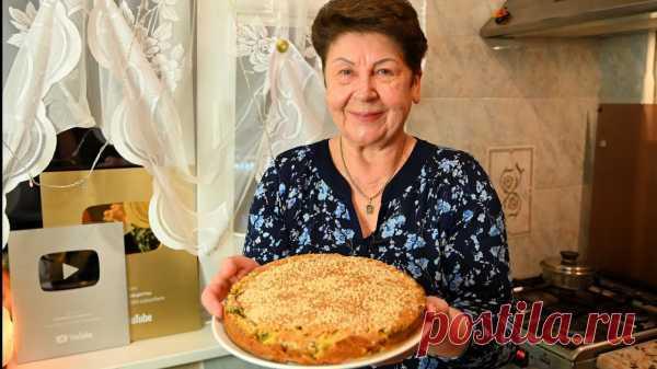 Тесто Бесподобное! Это мой фаворит среди пирогов, и я готова печь его каждый день! Рыбный пирог! | Вкусные кулинарные рецепты