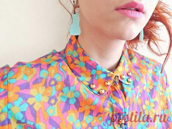 Пуговки на блузке / Блузки / Модный сайт о стильной переделке одежды и интерьера